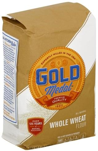Gold Medal Whole Wheat Flour - 5 lb
