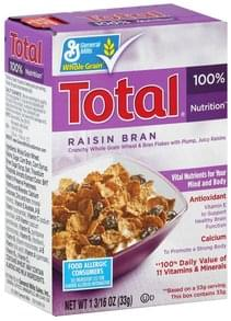Total Cereal Raisin Bran