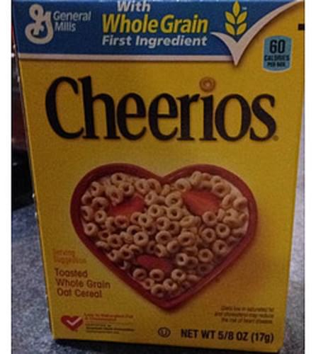 Cheerios Single Pack Toasted Whole Grain Oat Cereal - 17 g