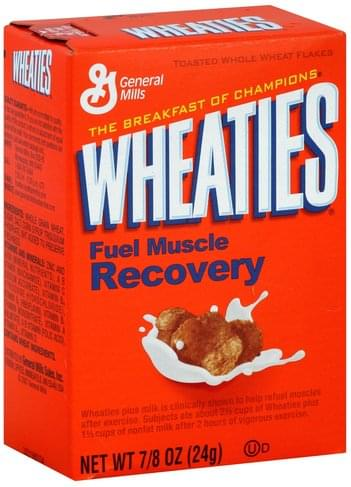 Wheaties Cereal - 0.875 oz, Nutrition