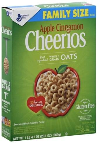 Cheerios Apple Cinnamon, Family Size
