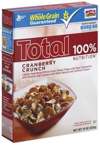 Total Cereal Cranberry Crunch