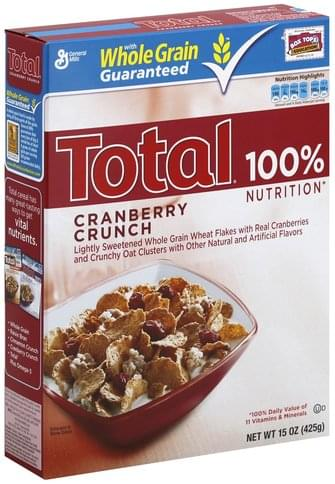 Total Cranberry Crunch Cereal - 15 oz