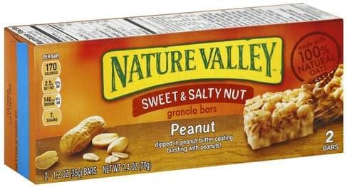 Salty Nut, Peanut Granola Bars