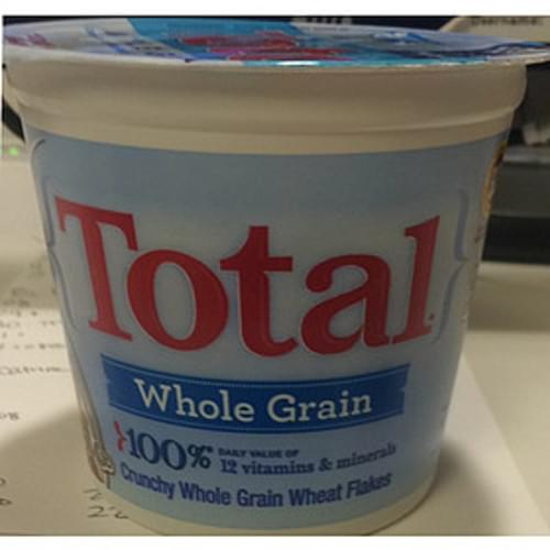 Total Whole Grain Wheat Flakes Cereal - 43 g