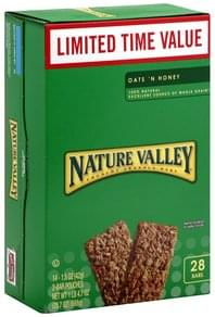 Nature Valley Crunchy Granola Bars Oat 'N Honey