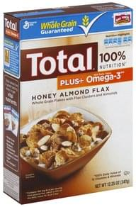 Total Cereal Honey Almond Flax
