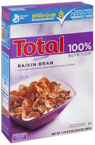 Total Raisin Bran - 24.6 oz