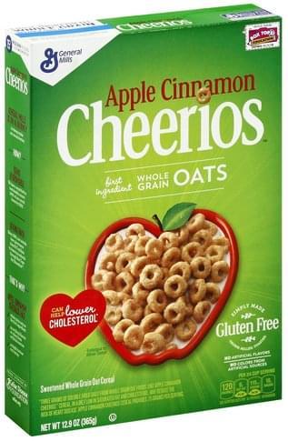Cheerios Apple Cinnamon Cereal - 12.9