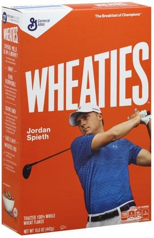 Wheaties Cereal - 15.6 oz, Nutrition
