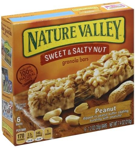 Sweet & Salty Nut Granola Bars