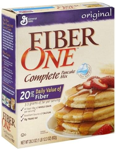 Fiber One Complete, Original Pancake Mix - 28.3 oz