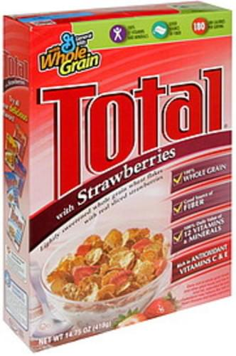 Total with Strawberries Cereal - 14.75 oz