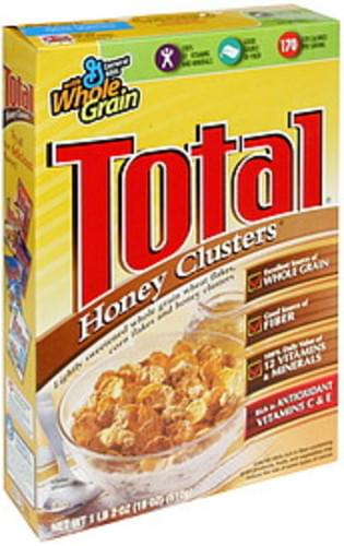 Total Honey Clusters Cereal - 18 oz