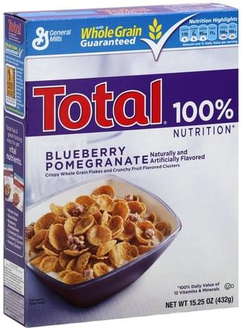 Total Blueberry Pomegranate Cereal - 15.25 oz