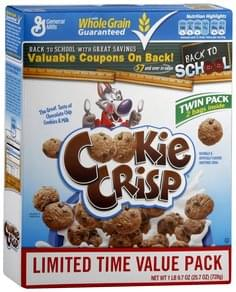 Cookie Crisp Cereal Twin Pack