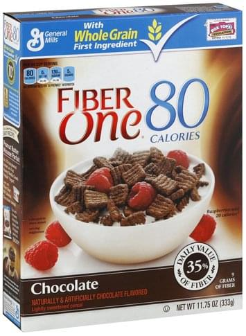 Fiber One Chocolate Cereal - 11.75 oz