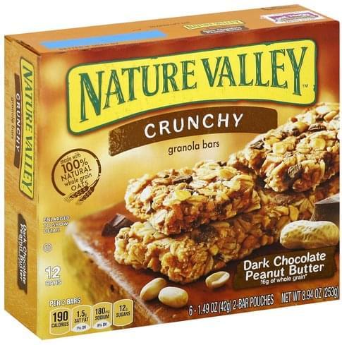 Nature Valley Crunchy, Dark Chocolate Peanut Butter Granola