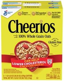 Cheerios Oat Cereal Toasted, Whole Grain