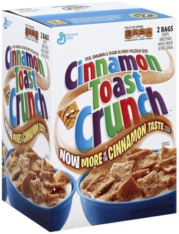 Cinnamon Toast Crunch Cereal - 43.75 oz