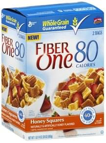Fiber One Cereal Honey Squares
