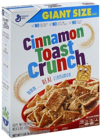 Cinnamon Toast Crunch Giant Size Cereal