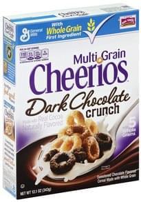 Cheerios Cereal Multi Grain, Dark Chocolate Crunch