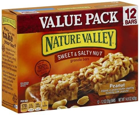 Nature Valley Sweet & Salty Nut, Peanut