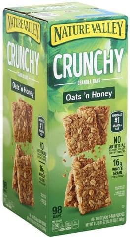 Oats 'n Honey Granola Bars