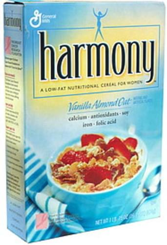 Harmony Vanilla Almond Oat Low-Fat Nutritional Cereal for Women - 16.75 oz
