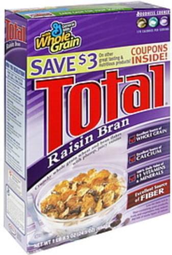 Total Raisin Bran Cereal - 24.5 oz