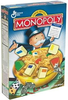 Monopoly Cereal Edition