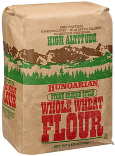 High Altitude Hungarian Stone Ground Style Whole Wheat Flour - 5 lb
