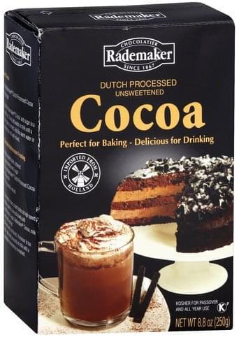 Rademaker Dutch Processed, Unsweetened Cocoa - 8.8 oz