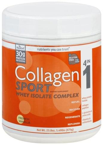 Collagen Sport French Vanilla Collagen Sport - 23.8 oz