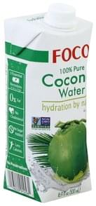Foco Coconut Water 100% Pure