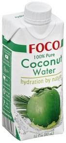 Foco Coconut Water 100% Pure
