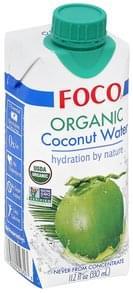 Foco Coconut Water Organic