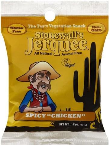Stonewalls Jerquee Spicy Chicken Jerquee - 1.5 oz