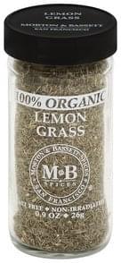 Morton & Bassett Lemon Grass 100% Organic