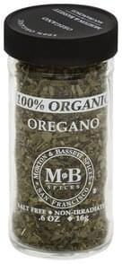 Morton & Bassett Oregano 100% Organic