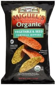 Miguels Tortilla Dippers Vegetable & Seed