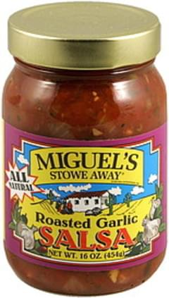 Miguels Salsa Roasted Garlic