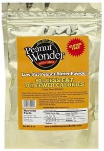 Peanut Wonder Peanut Butter Powder Low-Fat