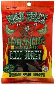 Wild Bills Beef Jerky Habanero Flavor