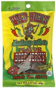 Wild Bills Beef Jerky Jalapeno