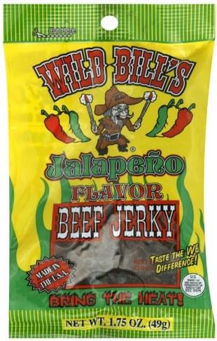 Wild Bills Jalapeno Beef Jerky - 1.75 oz