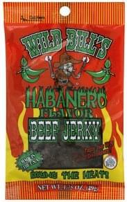 Wild Bills Beef Jerky Habanero