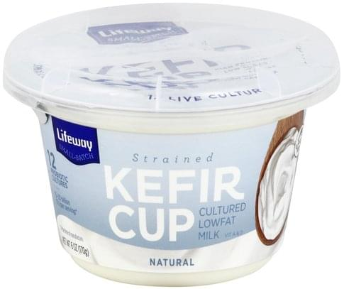 Lifeway Strained, Natural Kefir - 6 oz