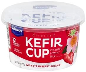 Lifeway Kefir Strained, Strawberry Rosehip